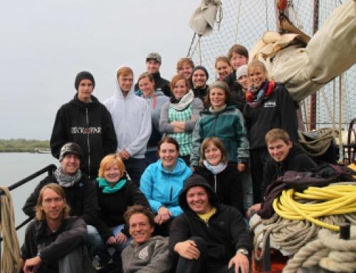 Segeltörn der Roverstufe – DPSG Wendelstein auf dem niederländischen Ijselmeer