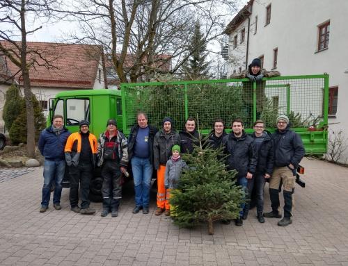 Christbaumaktion 2018 – auch dieses Jahr wieder ein voller Erfolg